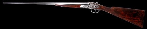 Fusil juxtaposé à platines